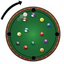 Pool Ball Clock