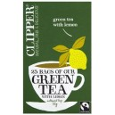 Green Tea with Lemon 25 Teabags