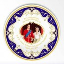 Royal Wedding Kiss Bone China Plate